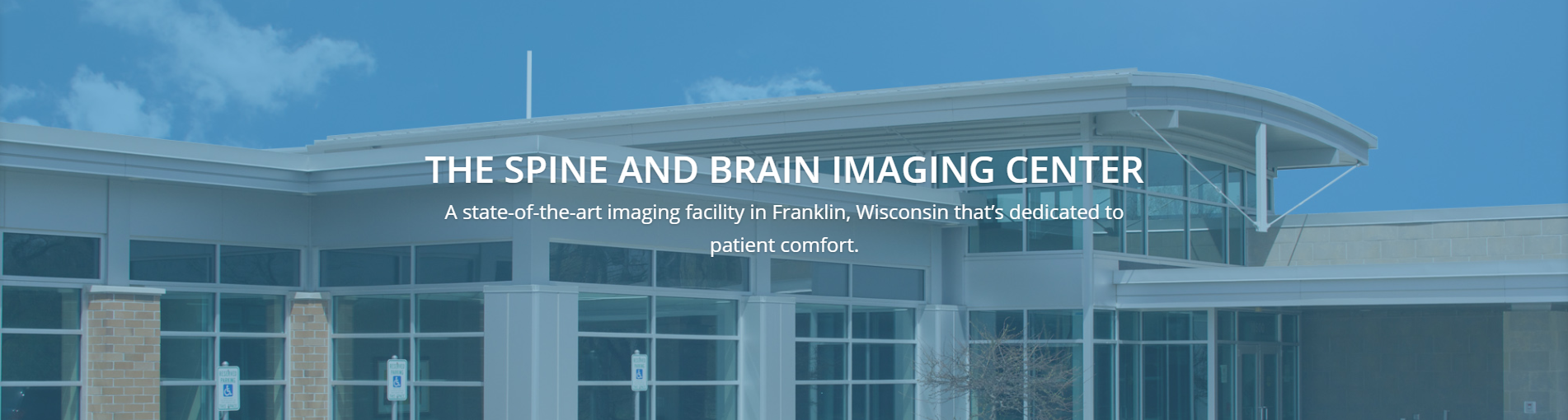 The exterior of The Spine and Brain Imaging Center